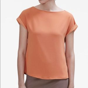 MM LaFleur Betty Top in Persimmon - Size S